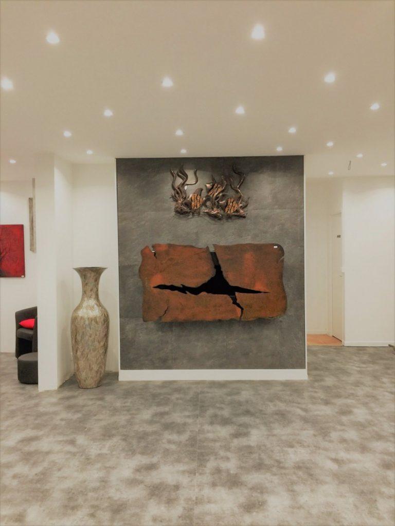 inneneinrichtung Kunst, Feuer & Inneneinrichtung zusammen bei Maison & Objet Paris glammfire paris showroom 2