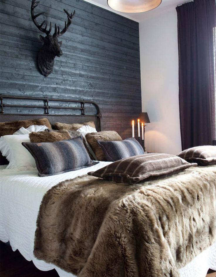 Schlafzimmer Deko Der Winter Kommt: Innenarchitektur Trends für Chalet Schlafzimmer Deko 193fac660b5a784c3379db5fd30c21ae cosy bedroom bedroom sets