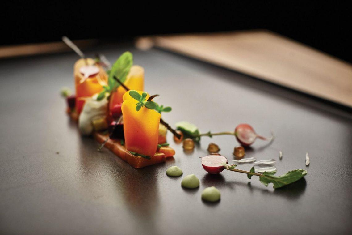 top restaurants Top Restaurants Weltweit mit der besten Innenarchitektur Baraka salmon 1