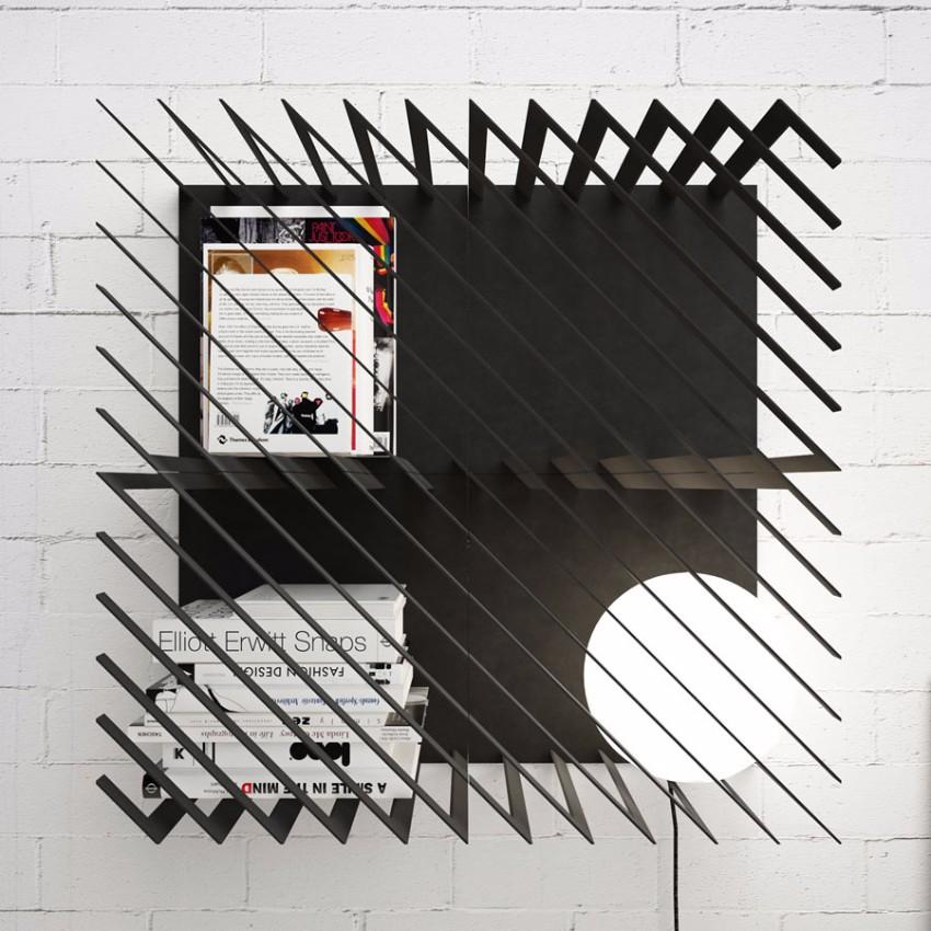 10 schöne Lösungen für modernen Bücherregale mit Funktionalität Bücherregale 10 schöne Lösungen für modernen Bücherregale mit Funktionalität Hash Shelf LINE STUDIO Max Voytenko 1