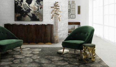 6 perfekte grüne Samt Sessel für Ihr Herbstdeko