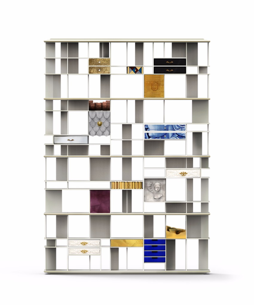 10 schöne Lösungen für modernen Bücherregale mit Funktionalität Bücherregale 10 schöne Lösungen für modernen Bücherregale mit Funktionalität coleccionista custom bookcase shelf 01
