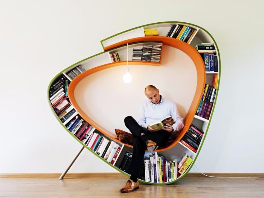10 schöne Lösungen für modernen Bücherregale mit Funktionalität Bücherregale 10 schöne Lösungen für modernen Bücherregale mit Funktionalität cool bookshelf designs  furniturecreative dark brown modular