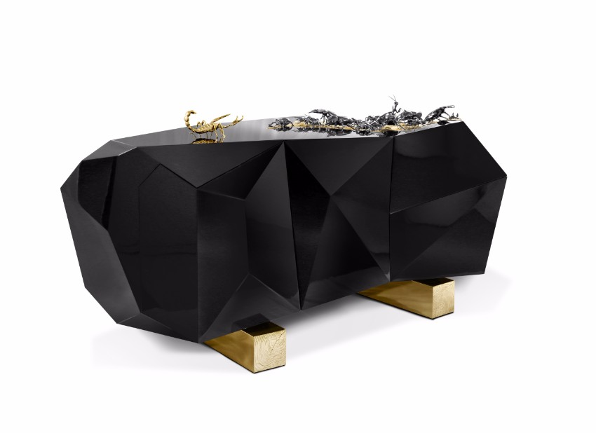 Außergewöhnlichen Stücke für ein schönes Herbstdeko  Sideboards Außergewöhnlichen Sideboards für ein schönes Herbstdeko diamond metamorphosis 01