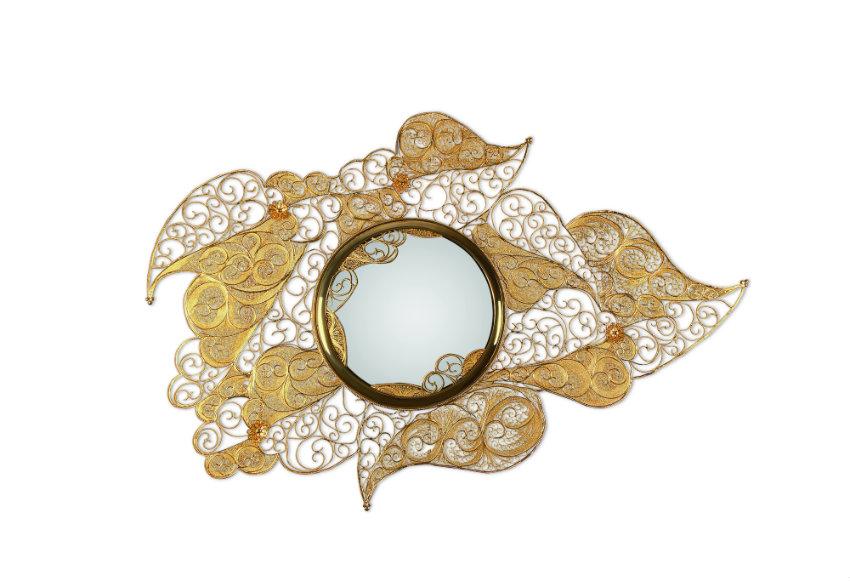 mode Luxus Design Möbel an Mode Herbsttrends 2017 inspiriert filigree mirror 01 1