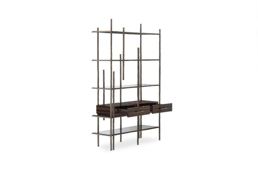 10 schöne Lösungen für modernen Bücherregale mit Funktionalität Bücherregale 10 schöne Lösungen für modernen Bücherregale mit Funktionalität mambu bookcase 4 HR