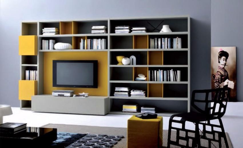 10 schöne Lösungen für modernen Bücherregale mit Funktionalität Bücherregale 10 schöne Lösungen für modernen Bücherregale mit Funktionalität modern bookshelf wall unit with design hd pictures