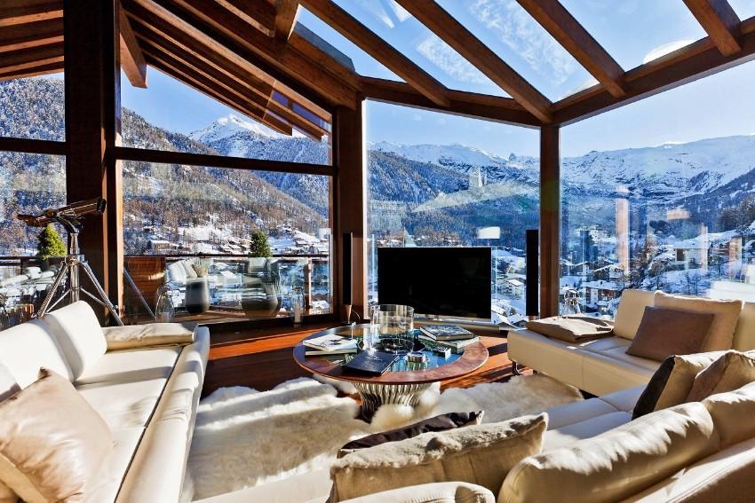 Die schönsten Winter Chalets für den Urlaub in den Bergen Winter Chalets Die schönsten Winter Chalets für den Urlaub in den Bergen Das 5 Sterne Boutique Chalet Zermatt