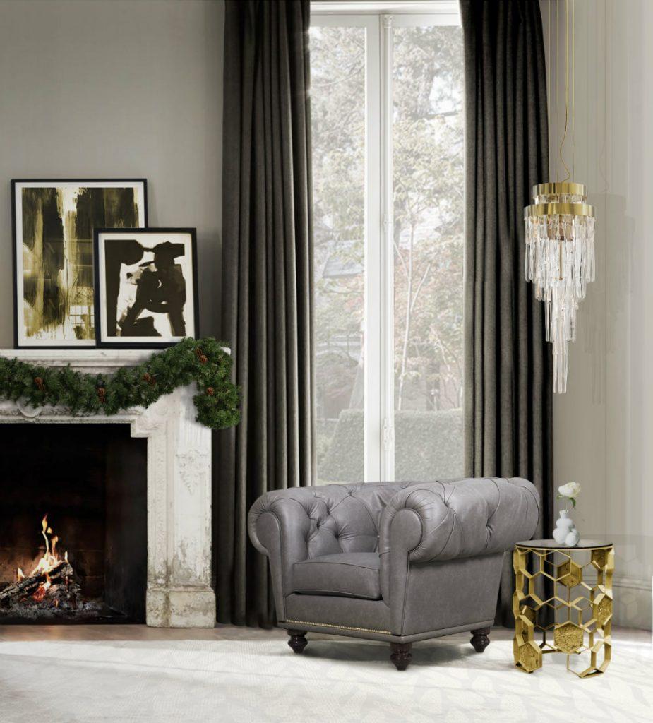 gem tliche wohnzimmer ideen f r warmes weihnachten zu hause wohn designtrend. Black Bedroom Furniture Sets. Home Design Ideas