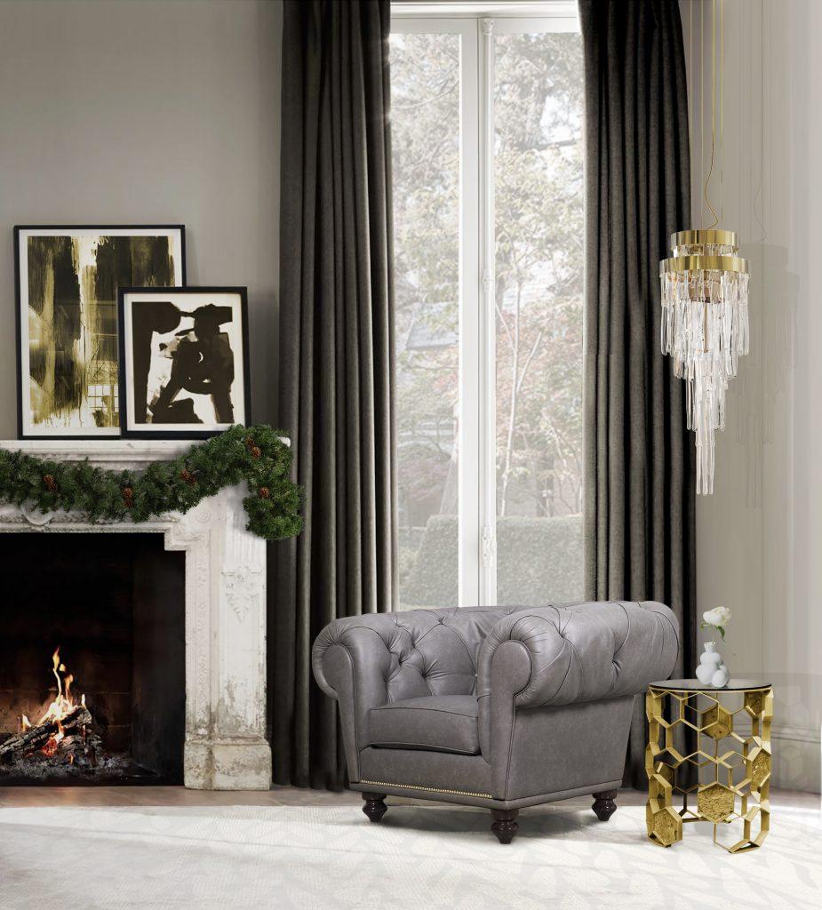 weihnachten Luxus Dekoration Tipps für Weihnachten Festlichkeiten chesterfield armchair hr 01 natal