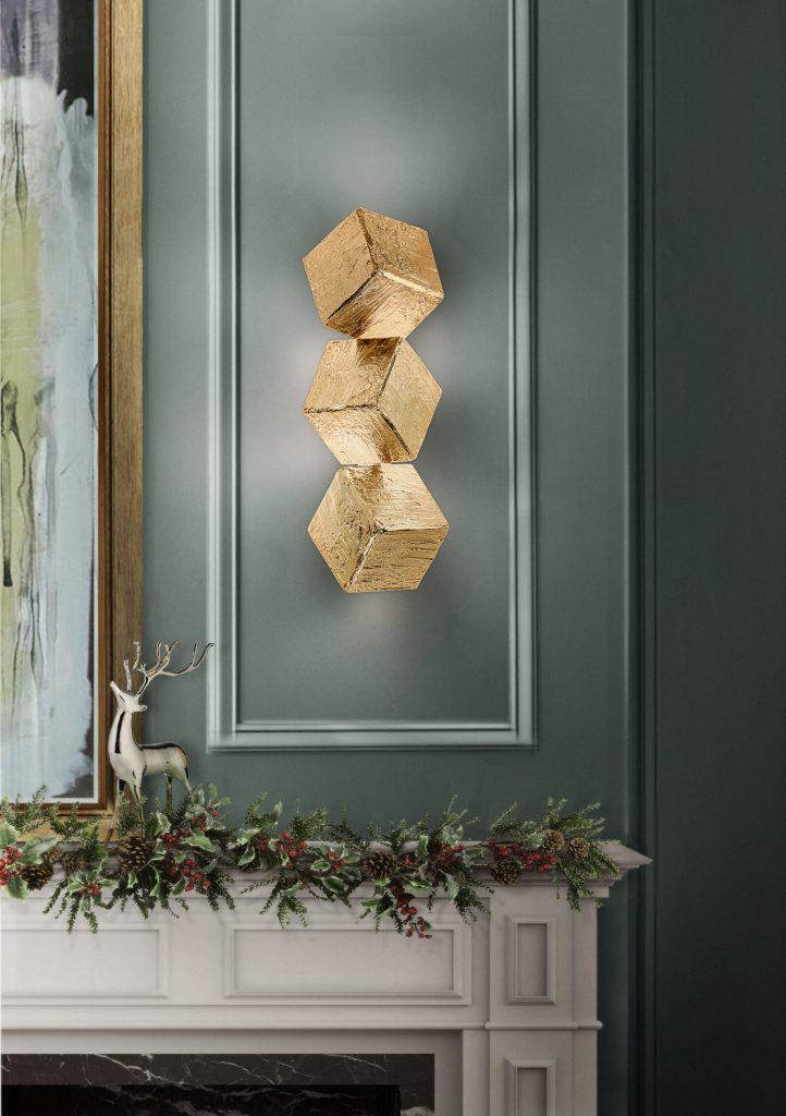 weihnachten Luxus Dekoration Tipps für Weihnachten Festlichkeiten cubic wall