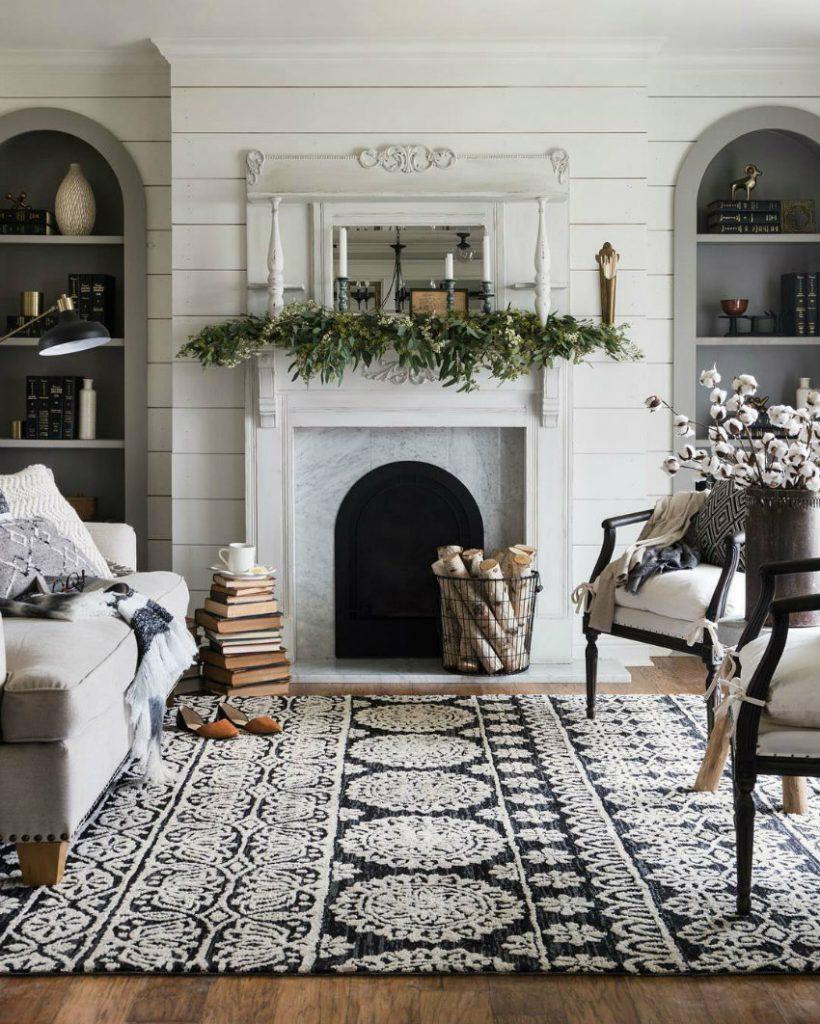 Wohnzimmer ideen gemütlich  Gemütliche Wohnzimmer Ideen für warmes Weihnachten zu Hause | Wohn ...