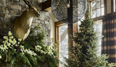 wohnzimmer ideen Gemütliche Wohnzimmer Ideen für warmes Weihnachten zu Hause feature 3 409x237