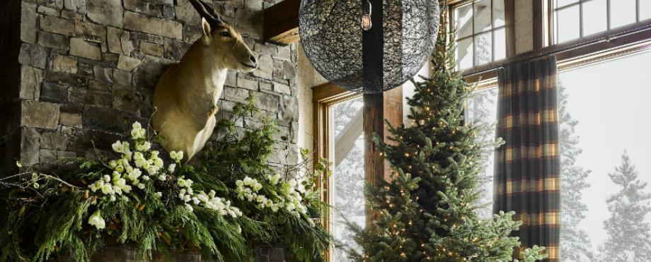 Gemütliche Wohnzimmer Ideen für warmes Weihnachten zu Hause