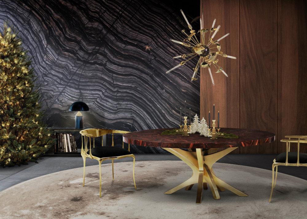 weihnachten Luxus Dekoration Tipps für Weihnachten Festlichkeiten patch dining table hr natal