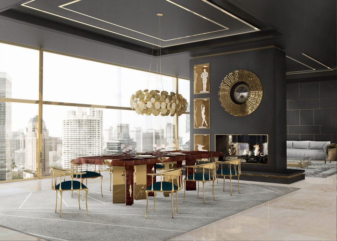 Luxus Esstische für die besten romantische Treffen Esstische Luxus Esstische für die besten romantische Treffen dining room ambience 01
