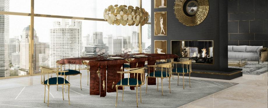 Luxus Esstische für die besten romantische Treffen
