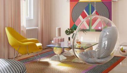 Minna Parikka Baut eine bunte Welt in Ihrem Helsinki Home