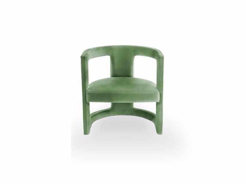 trendige Sessel  pantone Pantone Farbbericht: trendige Sessel mit Pantone Farben 2018 Nile Green
