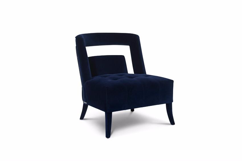trendige Sessel  pantone Pantone Farbbericht: trendige Sessel mit Pantone Farben 2018 Sailor Blue