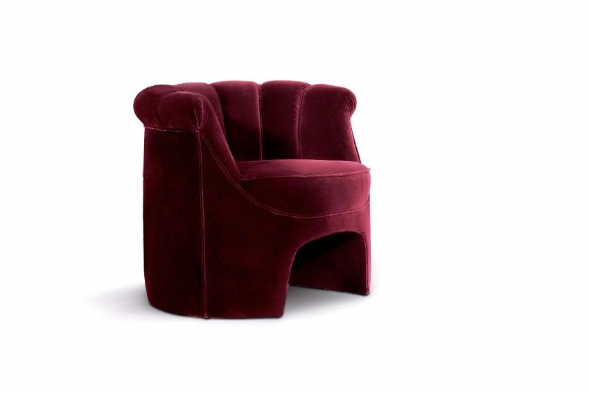 trendige Sessel  pantone Pantone Farbbericht: trendige Sessel mit Pantone Farben 2018 Spiced Apple