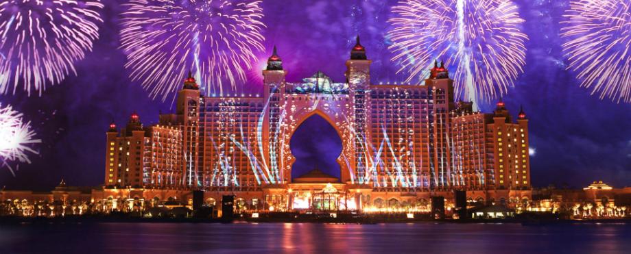 Luxushotels weltweit, um das neue Jahr zu feiern
