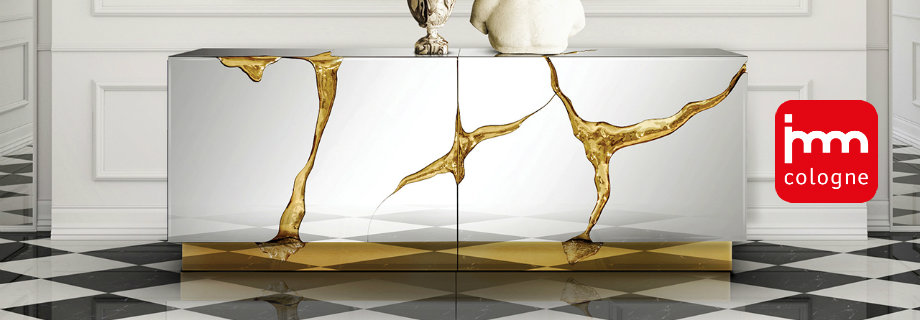 IMM Köln 2018: Limited Edition Luxus Möbel in Ausstellung