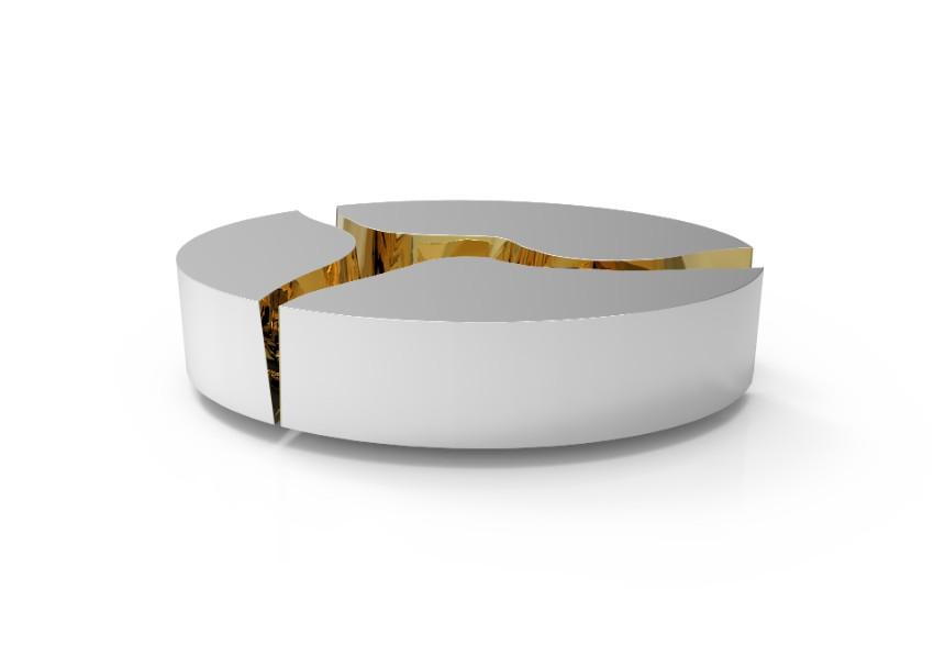 Luxus Möbel treffen sie sich mit Pantone  Farbtrends 2018 Luxus Möbel treffen sie sich mit Pantone Farbtrends 2018 lapiaz oval inox 02