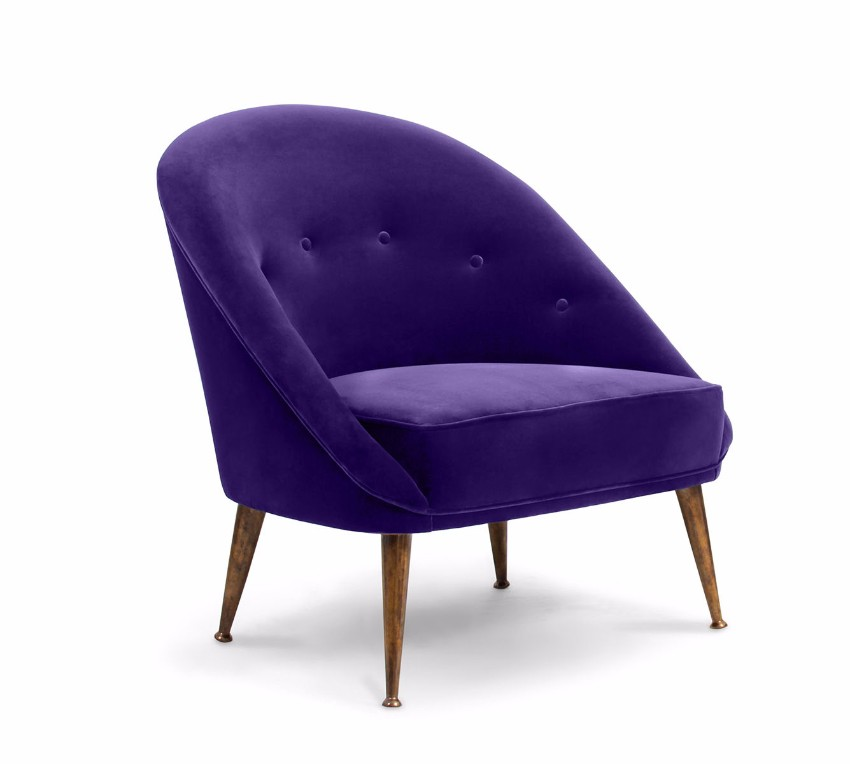 trendige Sessel  pantone Pantone Farbbericht: trendige Sessel mit Pantone Farben 2018 ultra violet