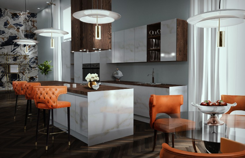 Oster: Design Inspirationen für ein perfektes Familientreffen Design Inspirationen Oster: Design Inspirationen für ein perfektes Familientreffen 122 Kansas Bar e Dining Chair 1