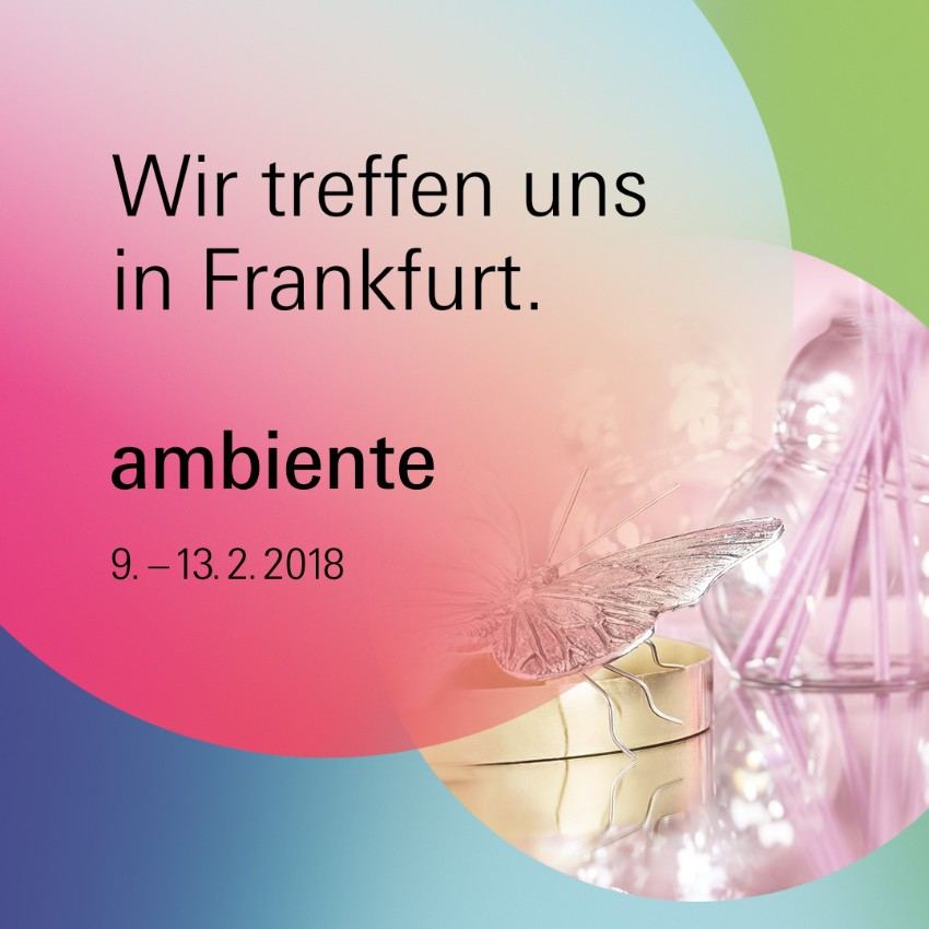 Was von Ambiente Frankfurt zu erwarten Ambiente Was von Ambiente Frankfurt zu erwarten AM Social Media Posts Giving DE 1