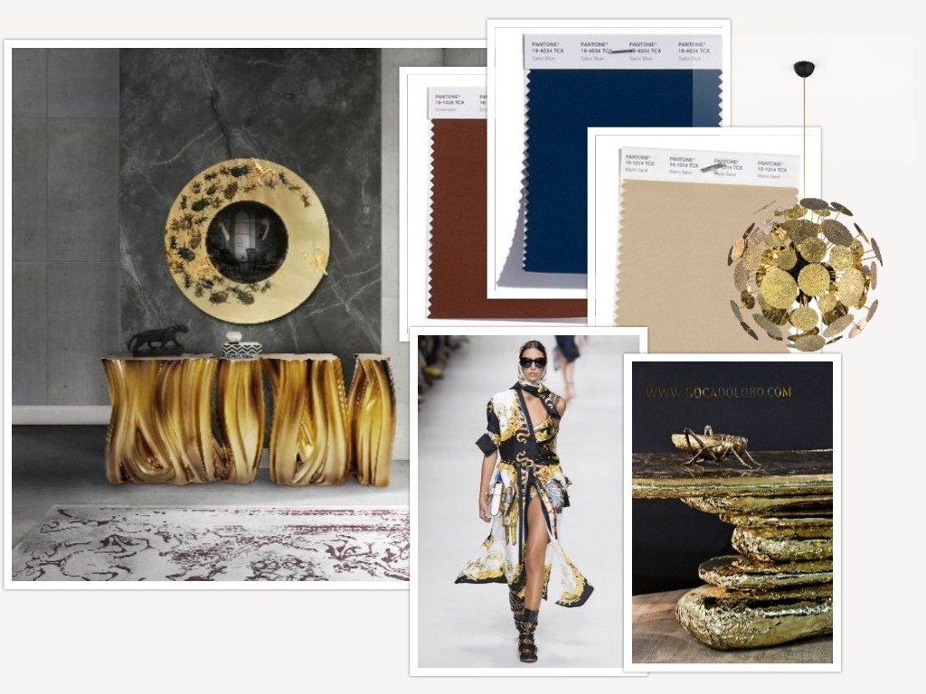 Innenarchitektur Frühling Inspirationen 2018: Mode und Innenarchitektur Moodboards ffff