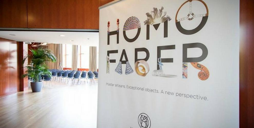 Homo Faber 2018 : Crafting a more human future. homo faber 2018 Homo Faber 2018 : Crafting a more human future. homo faber 1